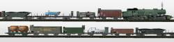 Gt 2×4/4 der KBStB mit Gütergarnitur der Epoche II