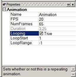 Eigenschaften Animation