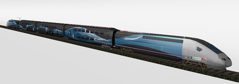 TGV V150 der SNCF